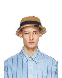 Lanvin Multicolor Fleece Bucket Hat