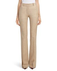 Victoria Beckham High Waist Flare Wool Pants
