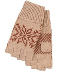 Tan Wool Gloves