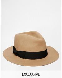 Reclaimed Vintage Wool Fedora Hat