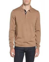 Nordstrom Men's Shop Merino Wool Polo Sweater