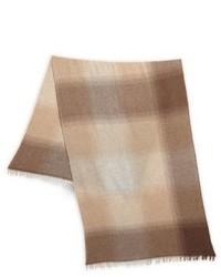 Brunello Cucinelli Wool Cashmere Bi Fold Scarf