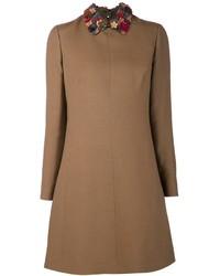 Valentino floral collar dress medium 120015
