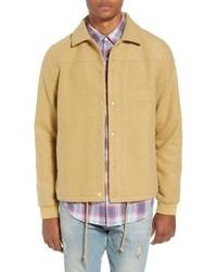 The Rail Wool Blend Coachs Jacket