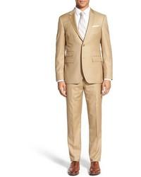Tan Wool Suit