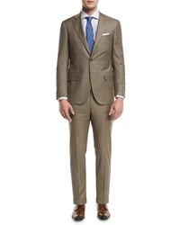 Isaia Solid Super 150s Wool Two Piece Suit
