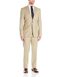 Tan Wool Suit