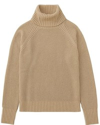Uniqlo Cashmere Blend Turtleneck Sweater