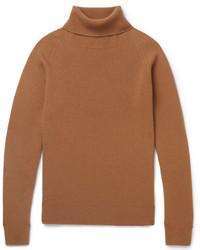 Barena Virgin Wool And Cashmere Blend Rollneck Sweater
