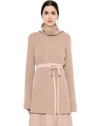 Valentino Wool Cashmere Turtleneck Sweater