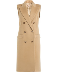 Michael Kors Michl Kors Virgin Wool Vest With Cashmere