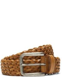 Club Monaco Mino Woven Leather Belt