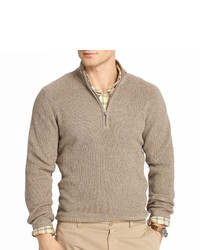 Izod Quarter Zip Shaker Sweater