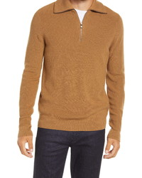 Nordstrom Men's Shop Quarter Zip Sweater