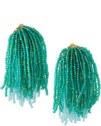 Lydell NYC Waterfall Beaded Statet Earrings