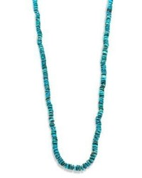 Chan Luu Beaded Turquoise Necklace