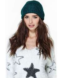 Nasty Gal Emerald City Beanie