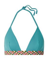 Eres Mambo Pancho Fringed Triangle Bikini Top