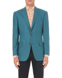 Richard James Contemporary Fit Brushed Wool Blazer