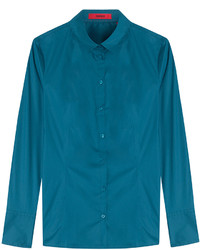 Hugo Stretch Cotton Blouse