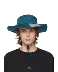 A-Cold-Wall* Blue Snap Pocket Bucket Hat