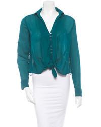 Silk blouse medium 126087