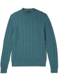 Tom Ford Cable Knit Cashmere Sweater