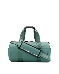 Teal Canvas Duffle Bag