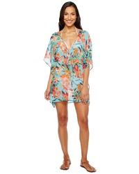 Tommy Bahama Floriana Tunic Cover Up Swimwear