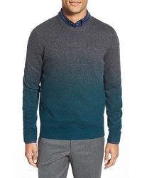 Ted Baker London Holaday Modern Slim Fit Ombr Crewneck Sweater