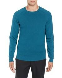 Cutter & Buck Lakemont Mixed Stitch Crewneck Sweater