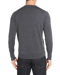 'Marcus' Easy Fit Crewneck Wool Sweater