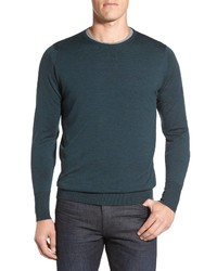 John Smedley Marcus Easy Fit Crewneck Wool Sweater