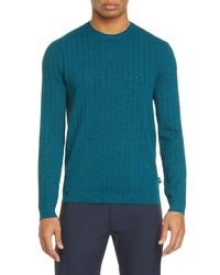 Emporio Armani Slim Fit Crewneck Sweater