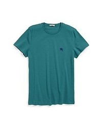Teal Crew-neck T-shirt