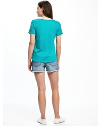 Old Navy Relaxed Graphic Crew Neck Tee For