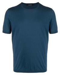 Tagliatore Short Sleeved Cotton T Shirt