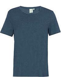 Topman Teal Classic Scoop Neck T Shirt