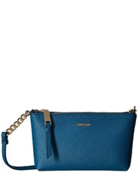 Calvin Klein Hayden Saffiano Key Item Crossbody Cross Body Handbags