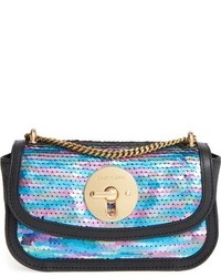 See by Chloe Lois Sequin Shoulder Bag Blue
