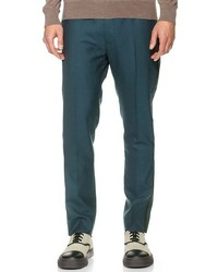 Wool pants with piping medium 318531