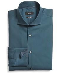 BOSS Jery Ww Slim Fit Easy Iron Solid Dress Shirt