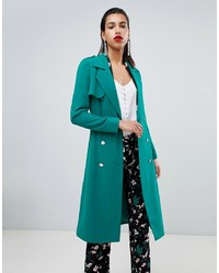 Teal Duster Coat