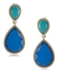 ABS by Allen Schwartz Jewelry Castaway Linear Drop Pierced Earrings