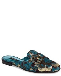 Dolce & Gabbana Dolcegabbana Embellished Backless Loafer