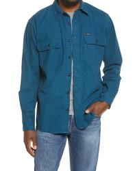 Filson Field Flannel Button Up Shirt