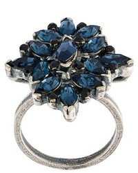 Marni Floral Strass Ring