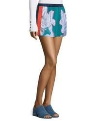 3.1 Phillip Lim Surf Silk Floral Shorts