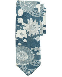 The Hill-Side Cotton Tie In Xerox Floral