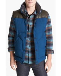 Marc by Marc Jacobs Portland Leather Trim Puffer Vest